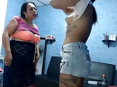 Young and old on cam