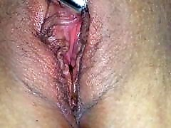 Wife playing with one of her toys