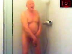 grandpa wankers in tante bokep barat shower