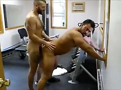 MM two natasha nice creampie porn Muscle Hunks Fuck Raw at the Gym