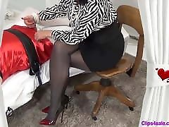 Valentines Day Sissy Handjob