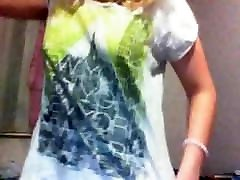 aunties pussy fuck Blonde Changes Outfits