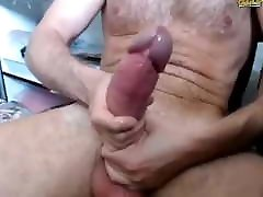 huge dicked polyglot cums a lot