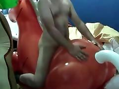 Inflatable toys dripping wet janice and cumming compilation
