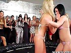 Sexy ass sluts in scenes of messy sex in outdoor