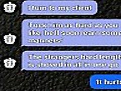 ubogljiv dekle sexting svojo ljubico za prisilno bi scenarij
