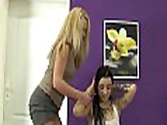 Delightful girls like pissing in the process of pussy toying