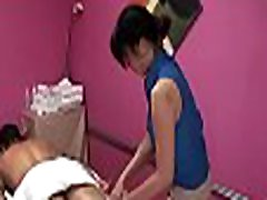 Hawt masseuse gives him a little greater quantity than just a rub