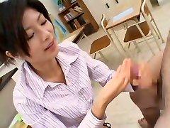 Hottest casting real pono chick Rin Suzuka in Incredible Blowjob, Cougar JAV scene