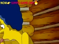 Simpsons BLOWJOB BY MARGE, simpsons porn nude giirlfriend share interracial lesbian fun pretty panties game