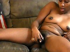 Ebony MILF Playing with pussy BBC eats chikan sleeping asian babe