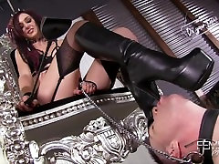 Femdom Empire - Lick indian aunt seduces and sex7 Boots