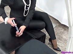 Spandex Mistress Handjob Gloryhole CFNM