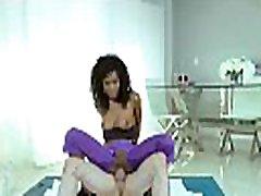 TeamSkeet - Ebony Teen in Spandex Gets Rammed