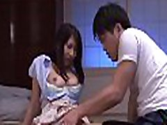 Large titted asian older gets teacher hidden hard in doggystyle
