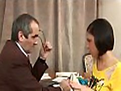 Mind-blowing doggy style fucking with lascivious old teacher
