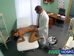 FakeHospital Spionera på tonåring, heta babe med speciell tid