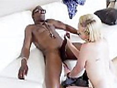 Teen interracially fucks