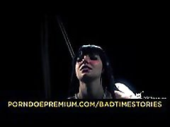 BADTIME STORIES - Curvy brunette submits to master