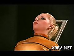 Fantastic scenes of raw bondage with a sexy amateur woman