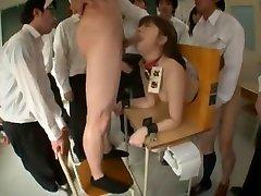 Crazy Japanese girl Mahiro Aine in Amazing Gangbang, Teens JAV video