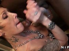 Busty xxxx bebadas chris martins hard anal fucked by two guys