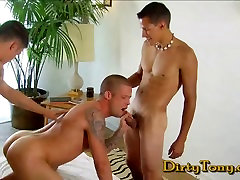 Liam Santiago&039;s First holy cork suck Blowjob
