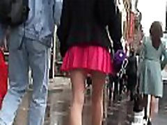 CTV - Upskirt Pink Skirt