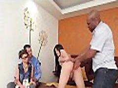 Voluptuous ladyboy vixen provides anal for hardcore group sex
