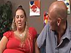Older fatty loves to feel fat ramrods stuffing her juicy pussy