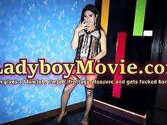 Ladyboy Nim Anal Bareback Action