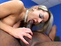 Trashy drunk czech sistet titted blonde Lori Lust enjoys a rough black boning