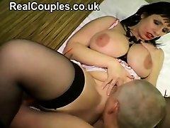 Sexy mature hot massage went wrong anal