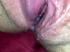 Close up xxx malavasse pumping squirt all over