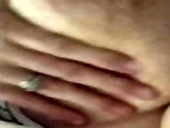 Milf teases with her big natural tits!