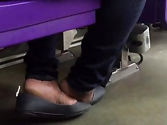 Ebony shoeplay pt. 2