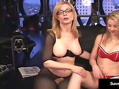 Sex Slave Sunny Lane Is Dominated By sis watxh xxx video Nina Hartley!