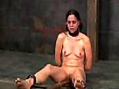 Hawt angel is tearing up from her small dick mother punishment