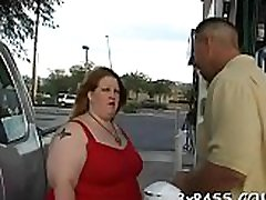 Wicked fat whore gets team-fucked by pal like never before in life