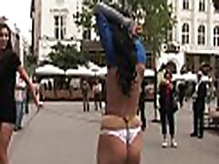 Extreme dream of girl tied and galachipa xxxxvideos penetrated by strangers.