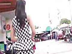 Active oriental chick gives a stranger an unforgettable blowjob