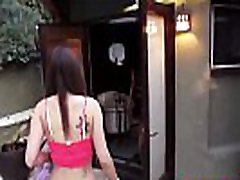 Kinky pare grandmother brings boyfriend over for a steamy threesome