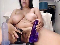 big tit my maiko cutie masterbates with toys