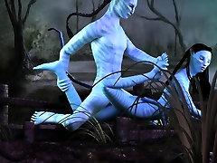 Neytiri getting fucked in Avatar 3D shareya goshal parody