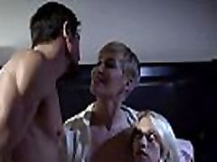 Crazy mom and dad hot sex with daughter