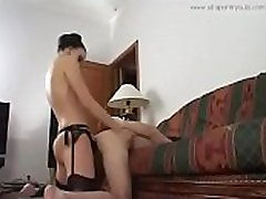 Strapon Tryouts - huge sodomy