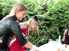 Best beeg xxyxx vdeostars Ferrara Gomez, Jenna Lovely and Leony Dark in fabulous hd, outdoor youjizz step sex video