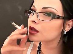 Incredible amateur Fetish, Smoking porn clip