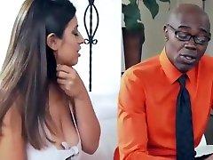Sexy jordi elina Latina Fucks Black Step Daddy