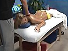 Legal age teenager gets massaged then drilled by her therapist